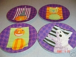 Sakura Haunted Holiday Salad Plates