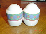 Pfaltzgraff Amalfi Mediterranean Salt and Pepper Set