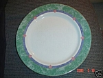 Click here to enlarge image and see more about item 3201: Pfaltzgraff Amalfi Mediterranean Dinner Plates
