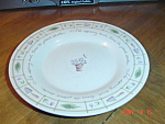 Click here to enlarge image and see more about item 3206: Pfaltzgraff Perennials Flower Garden Salad Plates