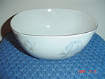 Click here to enlarge image and see more about item 35: Rosenthal Blue Roses Veggie Bowl