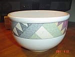 Click here to enlarge image and see more about item 3827: Mikasa Studio Nova Palm Desert Medium Mixing Bowl