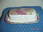 Mikasa Studio Nova Palm Desert Butter Dish