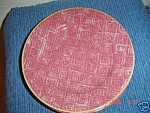 Click here to enlarge image and see more about item 3891: Sango Crismon/Crimson Salad Plates
