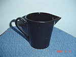 Click here to enlarge image and see more about item 3921: NEW Sango Contempo Black Creamer