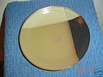 Click here to enlarge image and see more about item 3928: Sango Gold Dust Black Salad Plates