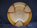 Click here to enlarge image and see more about item 4067: USED Sango Splash Brown Dinner Plates