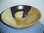 NEW Sango Gold Dust Black Chip n Dip Bowl Set