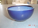 Click here to enlarge image and see more about item 4132: Sango Nova Blue Ice Cream Bowls