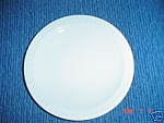 VINTAGE Centura/Proceram/Corning Sculptured Rim Dinner Plates
