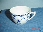 Click here to enlarge image and see more about item 443: Royal Copenhagen Blue Flowers Tall Cups