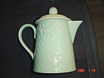 Click here to enlarge image and see more about item 447: Villeroy & Boch Piedmont Primavera Coffee Pot - New