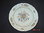 Click here to enlarge image and see more about item 449: Arita Rosalina Dinner Plates