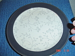 Click here to enlarge image and see more about item 4586: USED Sango Graphite Salad Plates