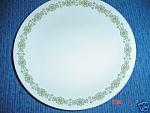 Click here to enlarge image and see more about item 4707: Corelle Cross Stitch Lunch Plates