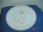 Click here to enlarge image and see more about item 4726: Corelle Peach Floral Dinner Plates