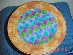Click here to enlarge image and see more about item 4758: Sango Ginger Salad Plates