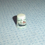 Click here to enlarge image and see more about item 4781: Queen Mary Sewing Thimble