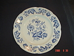 Click here to enlarge image and see more about item 4783: Johnson Bros. Windsor Ware Pods Dinner Plates