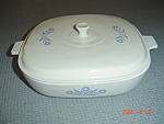 Click to view larger image of Corning Ware Cornflower Blue 10 in. Casserole w/Lid (Image1)