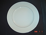 Click here to enlarge image and see more about item 4825: Wedgwood Signet Platinum Dinner Plates - New w/Tags #2