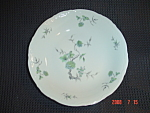 Click here to enlarge image and see more about item 4992: Mitterteich Green Ming Soup Bowls