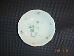 Click here to enlarge image and see more about item 4993: Mitterteich Green Ming Dessert Bowls