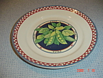 Click here to enlarge image and see more about item 5032: Susan Winget Peas Dinner Plate