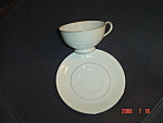 Royal M Imperial Footed Cups and Saucers