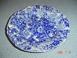 Click here to enlarge image and see more about item 5079: Laura Ashley Chintzware Dinner Plate - Damaged