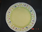 Click here to enlarge image and see more about item 5101: Mikasa Studio Nova Provence Garden Dinner Plates