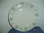 Click here to enlarge image and see more about item 5103: Pfaltzgraff Cloverhill Floral Dinner Plates