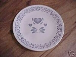 Corelle Blue Hearts Dinner Plates