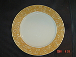 Sango Potpourri Golden Shower Dinner Plates