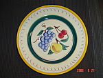 Click here to enlarge image and see more about item 5203: Stangl Fruit Dinner Plates