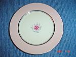 Click here to enlarge image and see more about item 52: Flintridge Petal Pink Rose Salad Plates