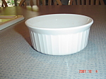 Corning Ware French White 7 oz. Ramekins - Stoneware