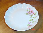 Click here to enlarge image and see more about item 54: Limoges France Giraud Eglantine Soup Bowls