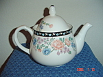 Click here to enlarge image and see more about item 579: Sango Claremore Tea Pot