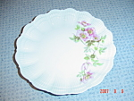 Click here to enlarge image and see more about item 57: Limoges France Giraud Eglantine Salad Plates