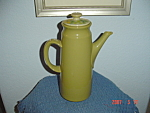 Click here to enlarge image and see more about item 583: Franciscan Pebble Beach Coffee Pot