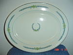 Click here to enlarge image and see more about item 599: Myott Athens Small Oval Platter