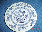 Click here to enlarge image and see more about item 657: J & G Meakin Blue Nordic Salad Plates