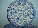 Click here to enlarge image and see more about item 673: The Bombay Company China Decorator Plate #4