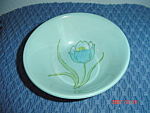 Metlox Hand Painted Tulips Cereal Bowls
