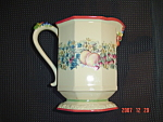 Click here to enlarge image and see more about item 9009: Avon Sweet Country Harvest Serving Pitcher