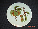 Click here to enlarge image and see more about item 735: Stangl Orchard Song Salad Plates