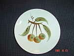 Click here to enlarge image and see more about item 737: Stangl Orchard Song Bread and Butter Plates