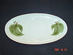Click here to enlarge image and see more about item 739: Stangl Orchard Song Gravy Boat Tray Only