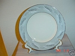 Click here to enlarge image and see more about item 74: Flintridge Continental Grey Dinner Plates